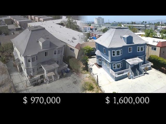 미국 Los Angles 4유닛 아파트 리모델링 Before & After