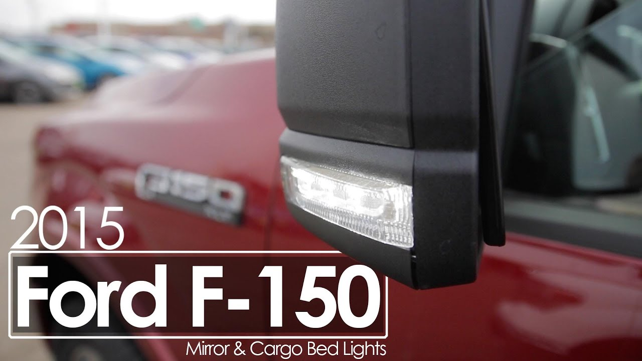 2015 Ford F150  Howto  Side  Cargo Light Operation