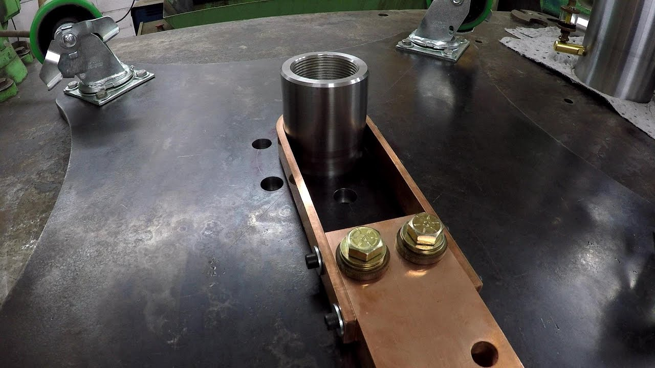 Rotary Welding Table Build Part 14 Youtube
