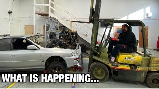 STI SWAP NOT GOING AS PLANNED!