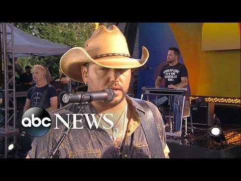 Jason Aldean LIVE Interview on GMA