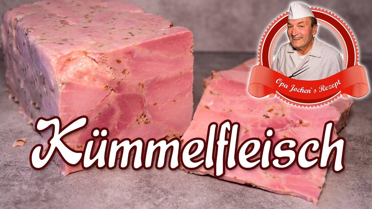 Kümmelfleisch selber machen - Wurst selber machen - Opa Jochen´s Rezept