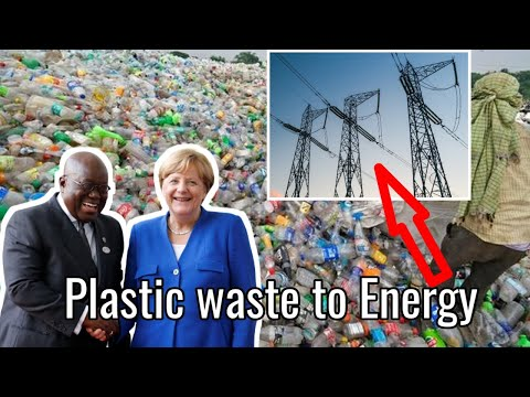 Breaking!!! Germany is Helping Ghana To Generate Electricity From Plastic Waste