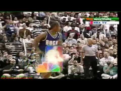 Glenn Robinson, Ray Allen, Sam Cassell 60pts @ 76ers Gm 5, 2001 Playoffs