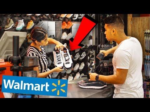 RETURNING WALMART SNEAKERS TO FOOTLOCKER!!