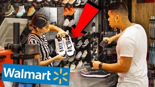 RETURNING WALMART SNEAKERS TO FOOTLOCKER!!