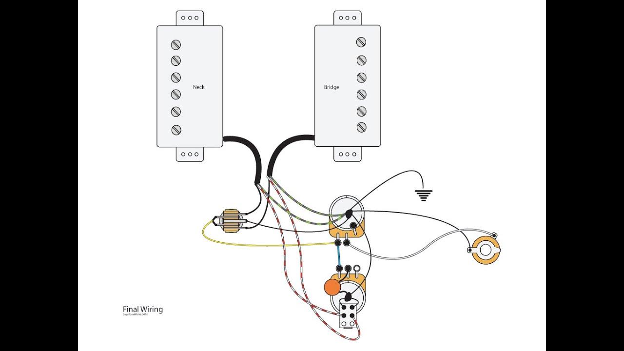 Free download dual humbucker wiring diagram auto electrical wiring guitar wiring diagram one volume one tone free download wiring rh xwiaw us double coil pickup humbucker 3 way switch wiring diagram humbucker wiring cheapraybanclubmaster Choice Image