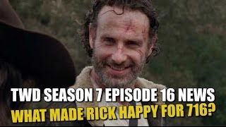The Walking Dead Season 7 Episode 16 Discussion What Got Andrew Lincoln So Excited for 716?