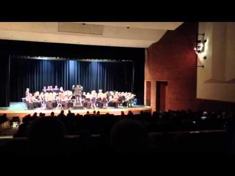 Fall River Overture- East Jordan High School Band