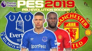 Everton vs Man Utd Prediction | English Premier League 21st Apr | PES 2019 Gameplay