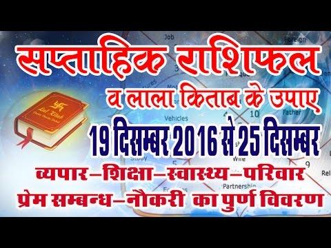 Saptahik rashifal-lal kitab 19 dec 2016 to 25 dec 2016