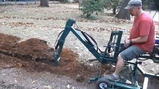 Homemade Excavators - Homemade Invention - Non primitive Technology