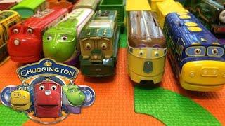 【treno giocattolo】Chuggington Wilson & 12 Chuggington motorizzato treno giocattolo (00479 it)