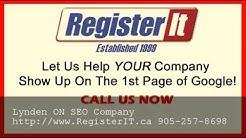 Best Toronto SEO Company Lynden ON - 905-257-8698