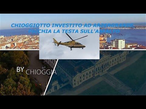 TG AZZURRA: CHIOGGIOTTO INVESTITO AD ARZERGRANDE PICCHIA LA TESTA SULL'ASFALTO - nr 79 del 24 aprile