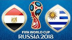 Fussball WM 2018 · Ägypten - Uruguay · 15.06.2018 · Jekaterinburg · Lets Play Fifa 18 WM PS4 #02