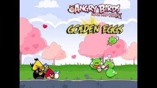 Angry Birds Seasons - Hogs and Kisses Golden Egg Walkthrough