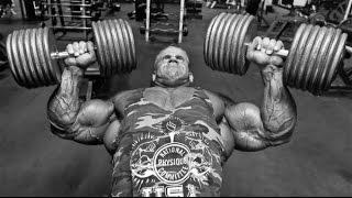 Тренировка груди Джея Катлера. Подготовка к Олимпии 2011 (RUS)