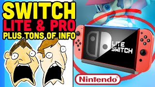 Nintendo Lite Switch and Pro Models + More Big News! - Hot Take