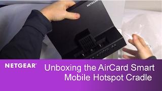 Unboxing the NETGEAR AirCard Mobile Hotspot Cradle | DC112A