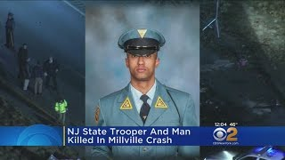 NJ State Trooper Killed In Crash