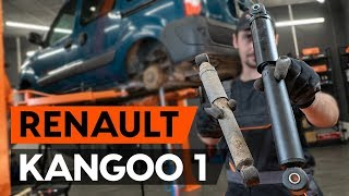 Vgradnja spredaj Blažilnik RENAULT KANGOO: video priročniki