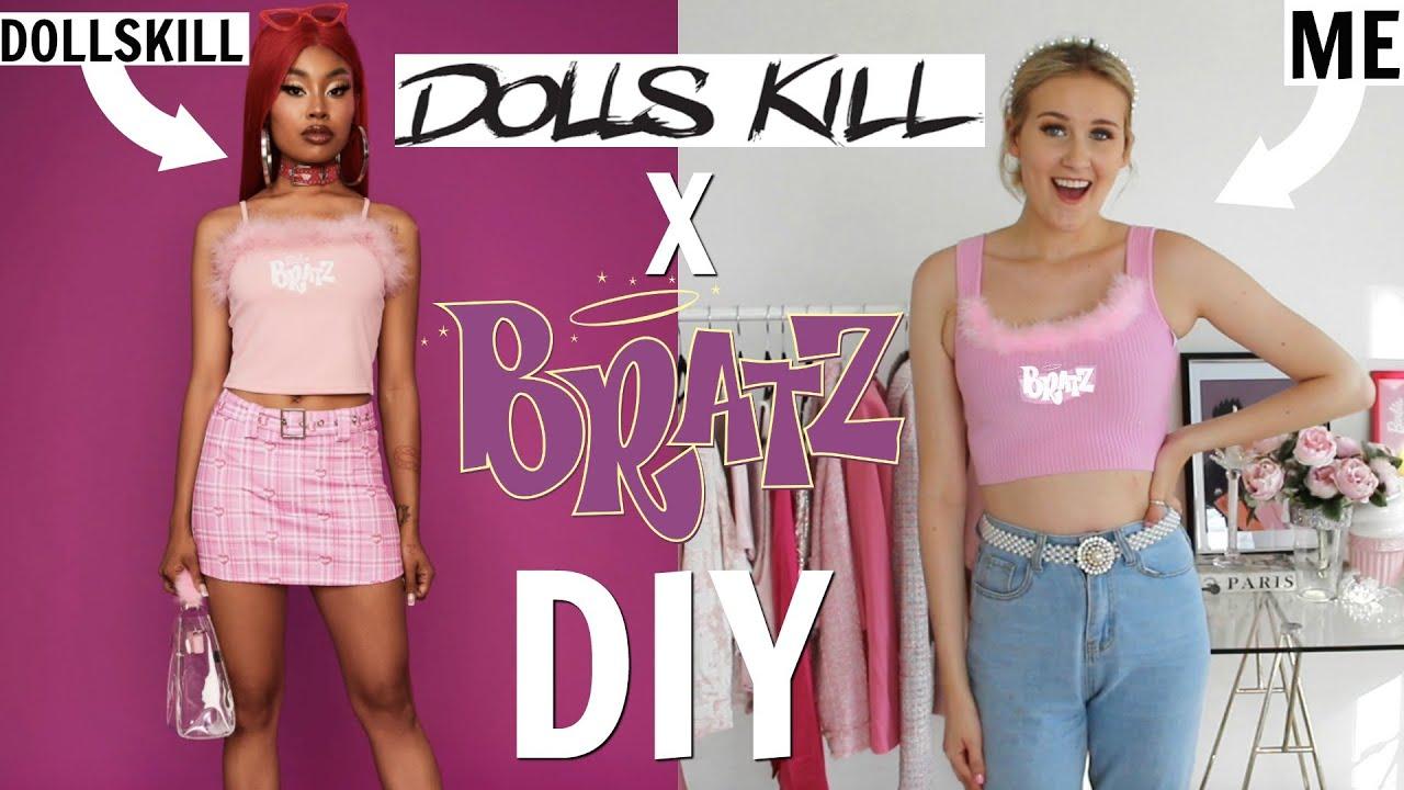 DIY DOLLSKILL X BRATZ CLOTHES!