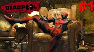 Deadpool PS3 Gameplay #1 [Contract Killer With A Mouth]