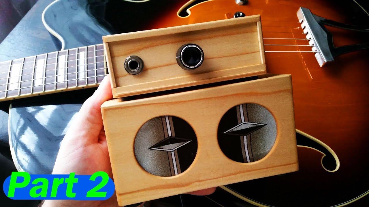 mini guitar amp diy build guitar amplifier simple part ii [ 1280 x 720 Pixel ]