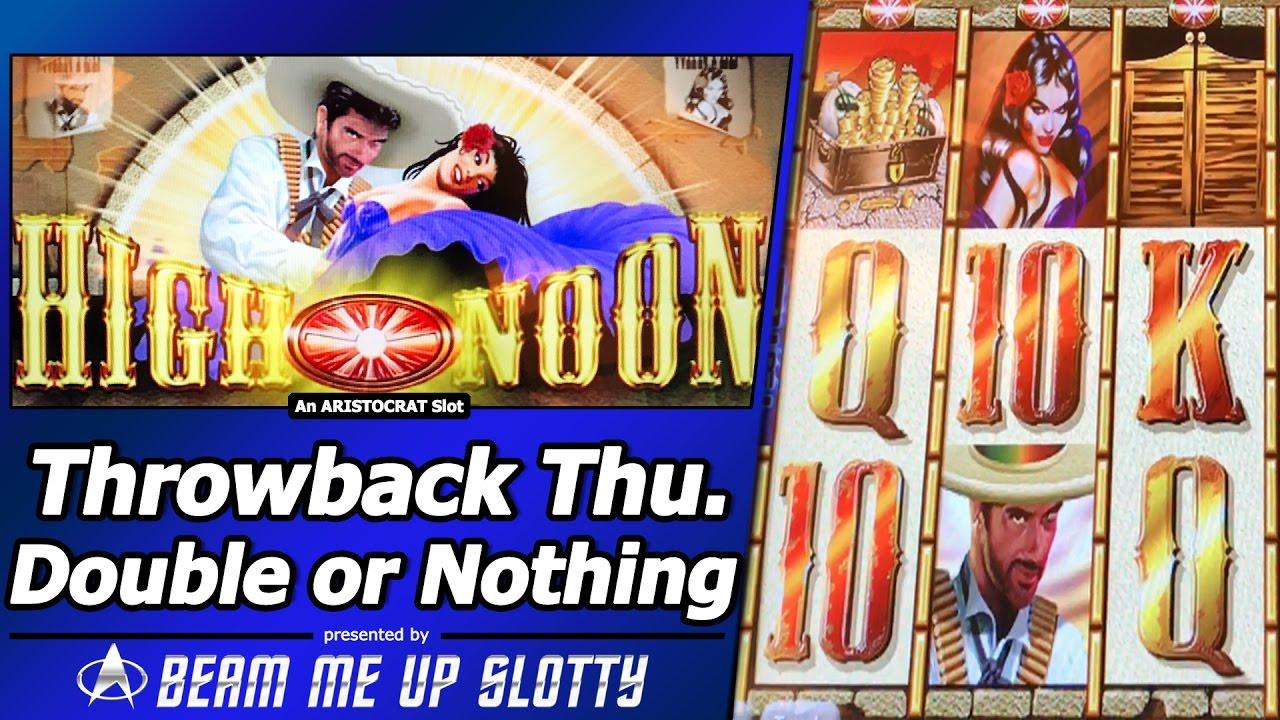 high noon slot machine