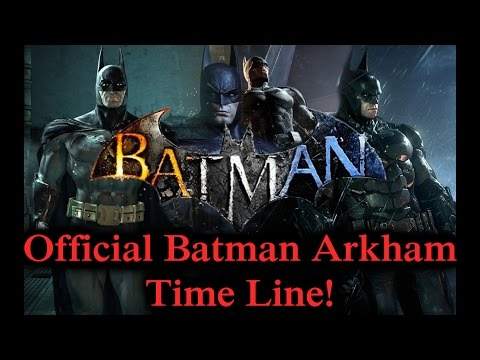 Batman Arkham Timeline Theory!! (Batman Arkham Series!)