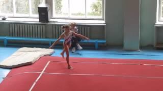Вольные упражнения спортивная гимнастика первый взрослый разряд