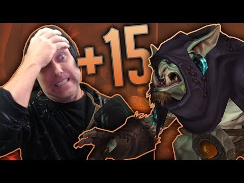 THE GEAR GRIND - Frost DK Mythic+ 15 Neltharion's Lair Highlights - Legion 7.2.5