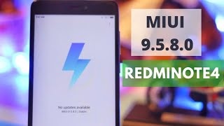 MIUI 9.5.8.0 UPDATE| What's New | Redmi Note 4| - All Bugs Fixed