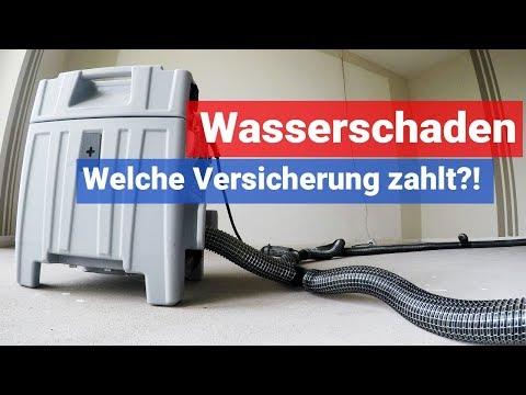 Wasserschaden - Welche Versicherung Zahlt?!