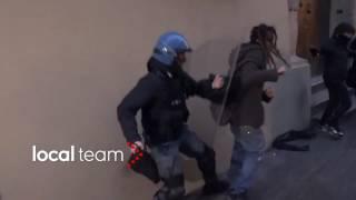 Protesta tornelli Università, scontri a Bologna 10 febbraio 2017