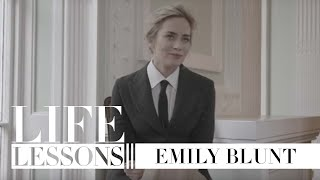 Life lessons with Emily Blunt