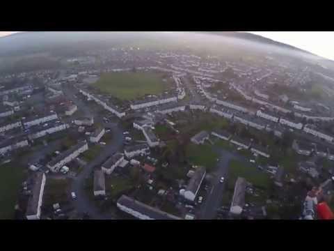 DJI F550 AERIAL VIEW OF LLAY NORTH WALES