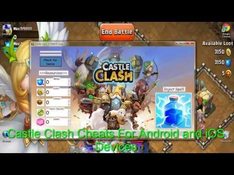 [iOS&Android&Windows]Castle Clash Cheats