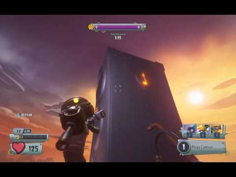 PvzGW2 - parkour locations: rocket leap on top of the huge speakers on zumburbia