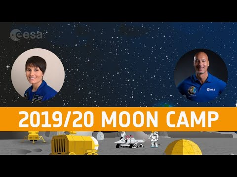 2019/20 Moon Camp winners webinar with ESA astronauts
