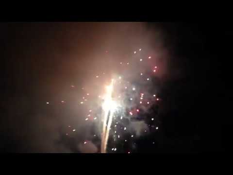 Amazing Fireworks Show At Monte Rio Beach, California (Indep