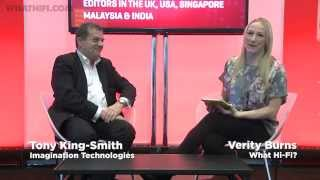 Tony King-Smith, Imagination Technologies interview - CES 2015