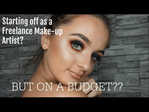Want to become a freelance make-up artist? Budget friendly advice & tips    naomicormack