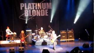 Platinum Blonde Concert 2012 I M Not In Love BRAND NEW SONG Be My Valentine