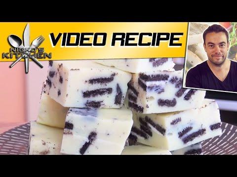 Oreo White Chocolate Fudge