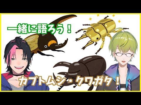 【コラボ】カブトムシ・クワガタについて語るぜ~!