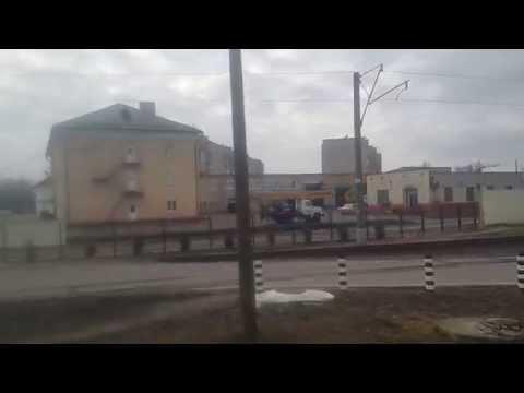 Прибытие поезда 662 Брест-Коммунары на станцию Орша