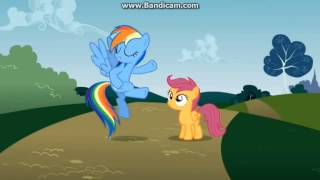 Rainbow Dash - No need to apologize, squirt