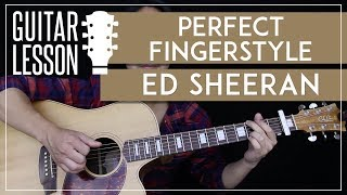 Perfect Fingerstyle Guitar Tutorial - Ed Sheeran Picking Lesson 🎸|Easy Fingerstyle Arrangement|